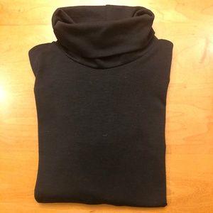 REI Black Turtle Neck Shirt Junior Size M